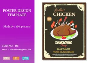 Thanksgiving Flyer Template Design Graphic Print Templates By abelpratama