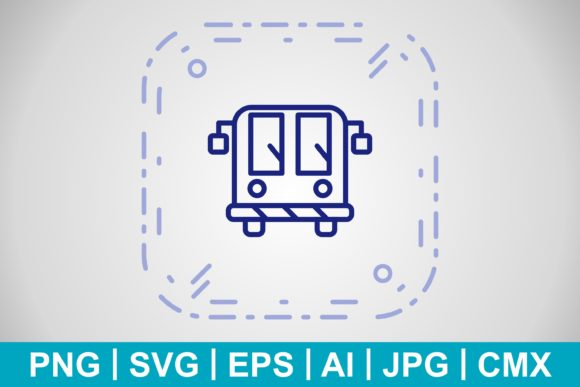Print on Demand: Vector Airport Bus Icon Graphic Icons By IYIKON