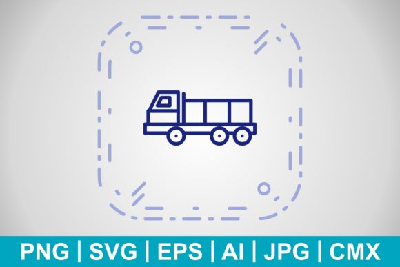 Print on Demand: Vector Dumper Icon Graphic Icons By IYIKON