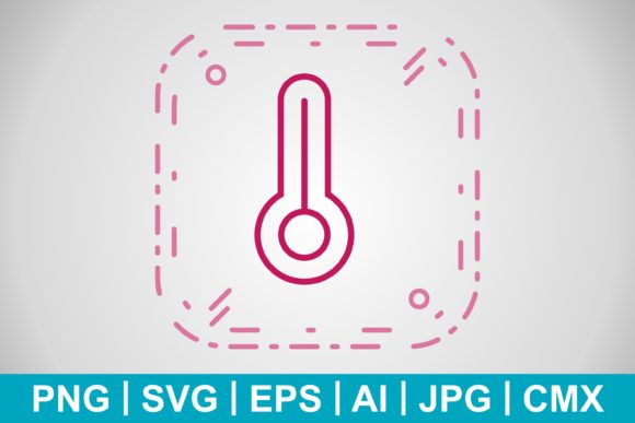 Print on Demand: Vector Temperature Icon Graphic Icons By IYIKON