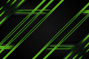 Print on Demand: Diagonal Green Geometric Background Graphic Backgrounds By noory.shopper
