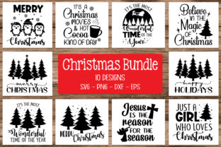 Print on Demand: Christmas Bundle Svg Graphic Crafts By All About Svg