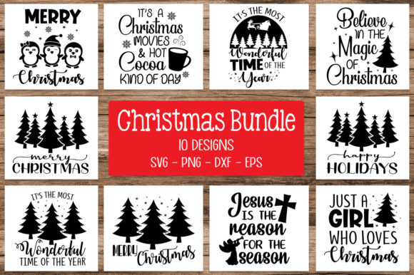 Christmas Bundle Svg Graphic Crafts By All About Svg