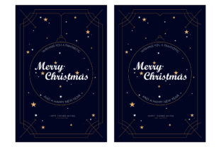Christmas Card Graphic Template Graphic Graphic Templates By Extumus