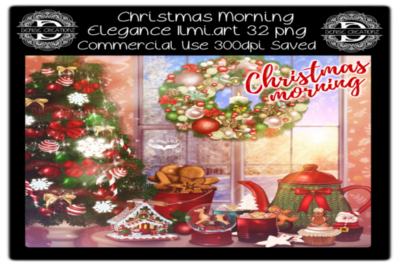 Christmas Morning Graphic Crafts By Denise Creationz