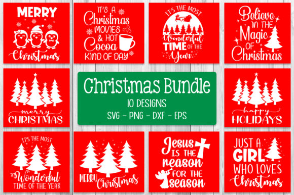 Christmas Quotes Bundle Svg Graphic Crafts By All About Svg