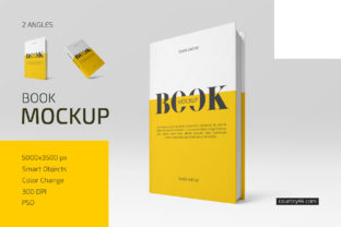 Hardcover Book Mockup Set Graphic Product Mockups By country4k