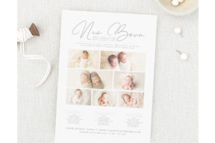 Printable Price Guide New Born Photograp Graphic Print Templates By ivanjoys19