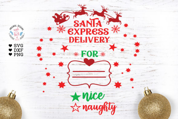 Santa SVG - from Santa Svg - Santa Sack Graphic Illustrations By GraphicHouseDesign
