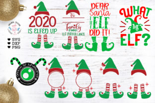 The Little Elf Bundle - 9 Separate Desig Graphic Illustrations By GraphicHouseDesign