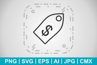 Print on Demand: Vector Business Tag Icon Graphic Icons By IYIKON