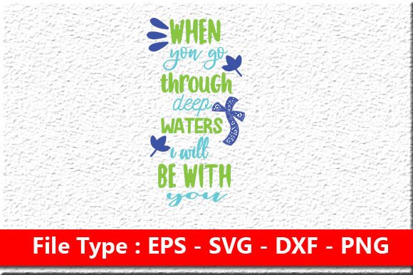 Print on Demand: Christian Jesus Svg Design,when You Go T Graphic Print Templates By Mou_graphics