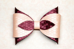 Simple Bow Template Graphic 3D SVG By ArtiCuties
