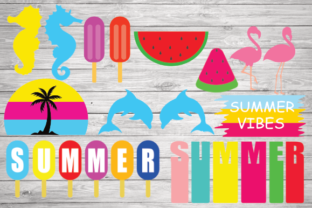 Print on Demand: Summer Bundle, Cute Summer Design Graphic Illustrations By rayan