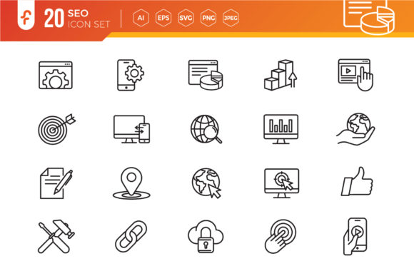 Seo Web Icons Set Graphic Icons By ferart88