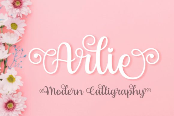 Print on Demand: Arlie Script & Handwritten Font By The Traveling Fox
