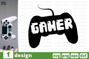 Gamer Graphic Crafts By SvgOcean