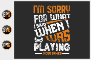 Print on Demand: Gamer Typographic Slogan Design Vector. Graphic Print Templates By ajgortee