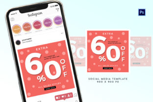 Social Media Promotion Template Graphic Print Templates By ivanjoys19
