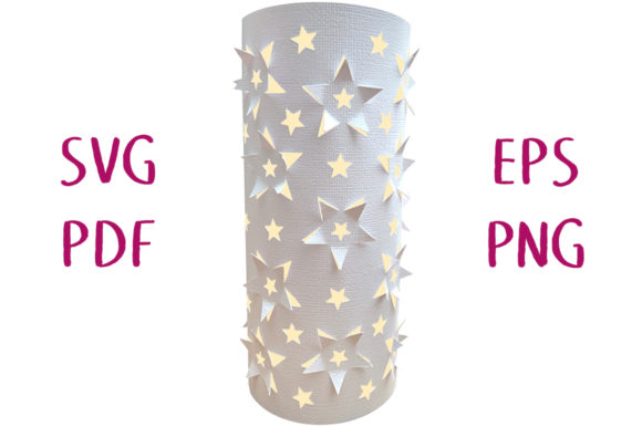 3D Star Lantern SVG Cut File Graphic 3D SVG By Nic Squirrell