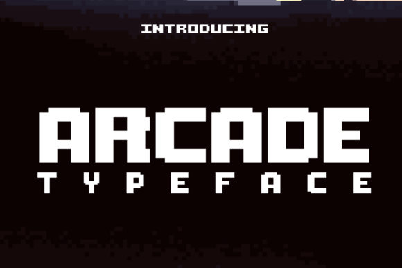 Print on Demand: Arcade Display Font By denestudios