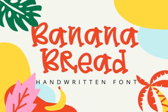 Print on Demand: Banana Bread Display Font By Al Ghul
