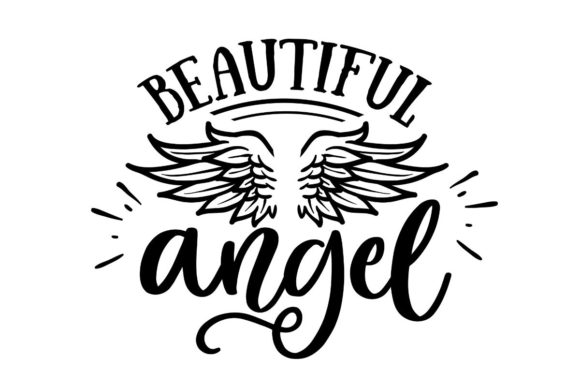 Beautiful Angel Graphic Crafts By Creative Divine