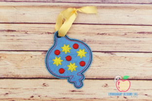 Beautiful Star Decoration Ornament Christmas Embroidery Design By embroiderydesigns101