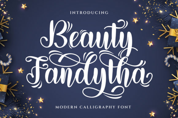 Print on Demand: Beauty Fandytha Display Font By Graphicxell