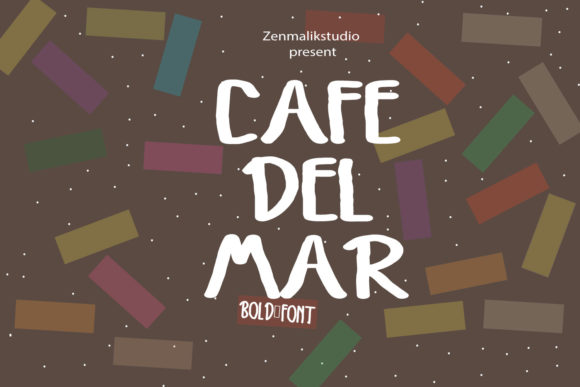 Print on Demand: Cafedelmar Script & Handwritten Font By Zenmalik.studio