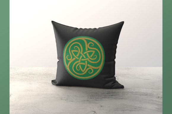 Celtic Circle Around the world Embroidery Design By Digital Creations Art Studio