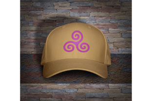 Print on Demand: Celtic Triskelion Spiral Travel & Season Embroidery Design By embroidery dp