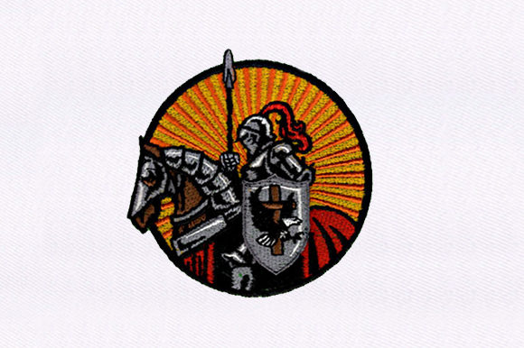 Christian Knights Toys & Games Embroidery Design By DigitEMB