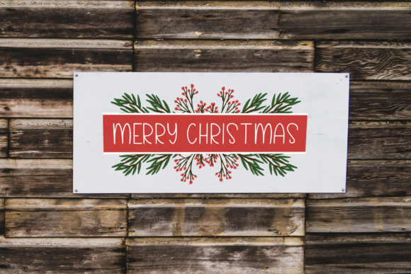Christmas Foliage Graphic Illustrations By Summit View Designs