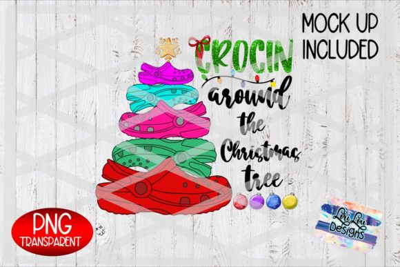 Crocin Around the Christmas Tree Graphic Illustrations By Lori Lou Designs
