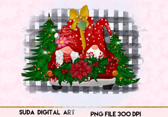 Print on Demand: Cute Christmas Bleach Design Sublimation Graphic Illustrations By Suda Digital Art