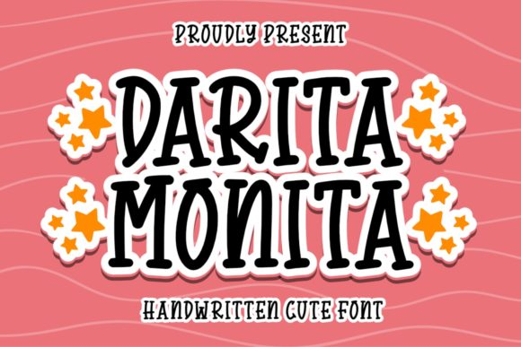 Print on Demand: Darita Monita Serif Fuente Por Typefar
