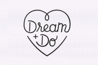 Dream & Do Awareness Embroidery Design By DigitEMB