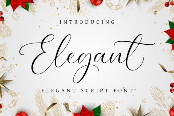 Print on Demand: Elegant Script & Handwritten Font By AV Type
