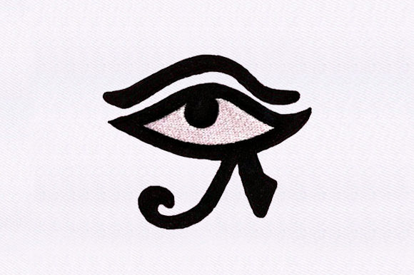 Eye of the Anubis Boho Embroidery Design By DigitEMB