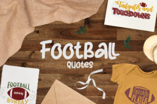 Football Graphic Crafts By Firefly Designs