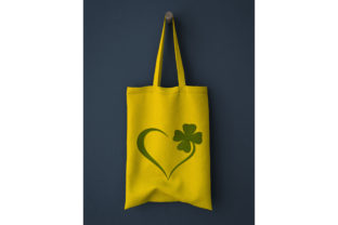 Four Leaf St Patrick's Day Embroidery Design By Digital Creations Art Studio