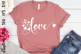 Print on Demand: Love SVG Cut File | Valentines SVG Graphic Crafts By illuztrate