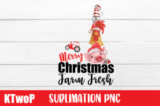 Print on Demand: Merry Christmas Sublimation FarmFresh Graphic Illustrations By KtwoP