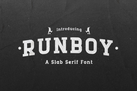 Print on Demand: Runboy Slab Serif Font By TypeFactory
