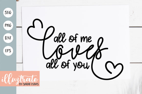 Print on Demand: SVG Cut File | Valentines SVG Graphic Crafts By illuztrate