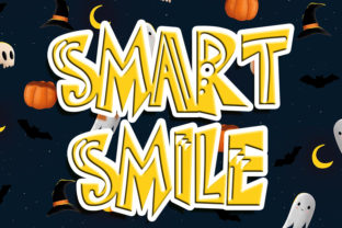 Print on Demand: Smart Smile Display Font By Eddygoodboy