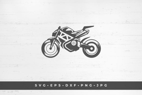 Sport Bike Icon Isolated on White Gráfico Ilustraciones Por vasyako1984