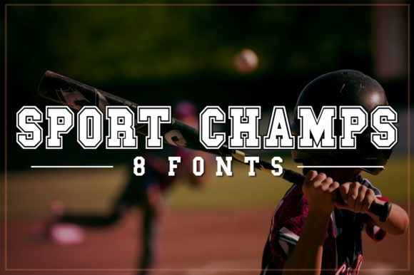 Print on Demand: Sports Champs Decorative Font By Anastasia Feya