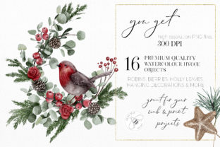 Print on Demand: Watercolor Christmas Magic Classic Graphic Illustrations By Busy May Studio 2